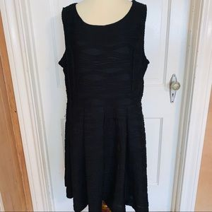 Forever 21+ Fit & Flare Black Dress. Size 3X